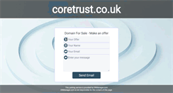 Preview of coretrust.co.uk